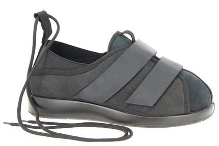 Lymph velcro shoe
